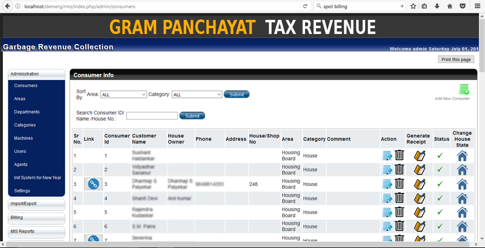 Tax Revenue Management System Demerg Systems Your Source